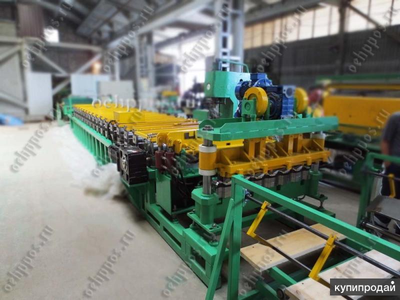 Оборудование для производства металлочерепицы типа «Монтеррей»