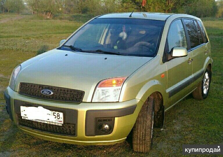 Ford Fusion 1.4 AMT, 2006, хетчбэк