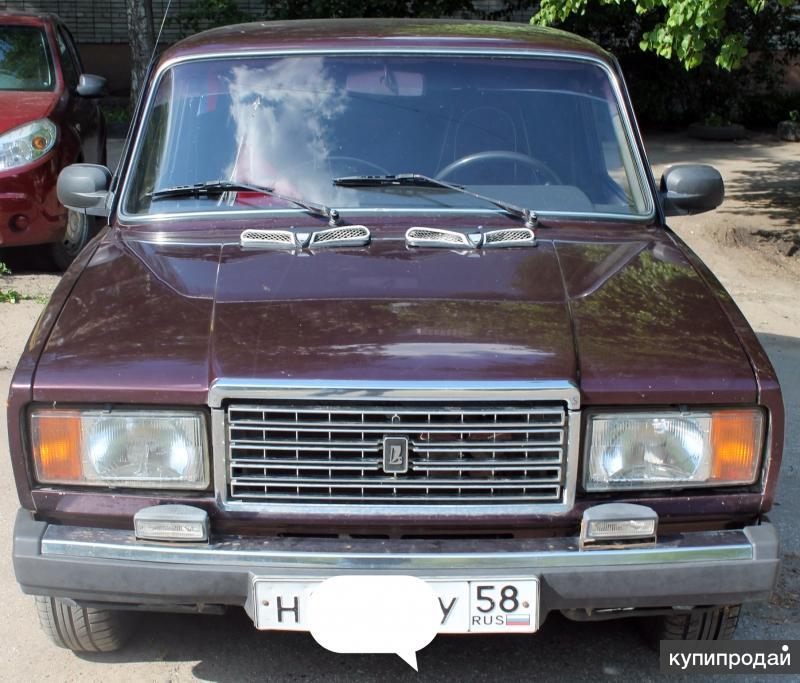 Продам ВАЗ-2107 с пробегом
