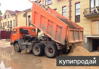Продажа речного песка в Хабаровске