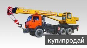 Автокран Галичанин КС-55713-1 с гуськом НОВЫЙ
