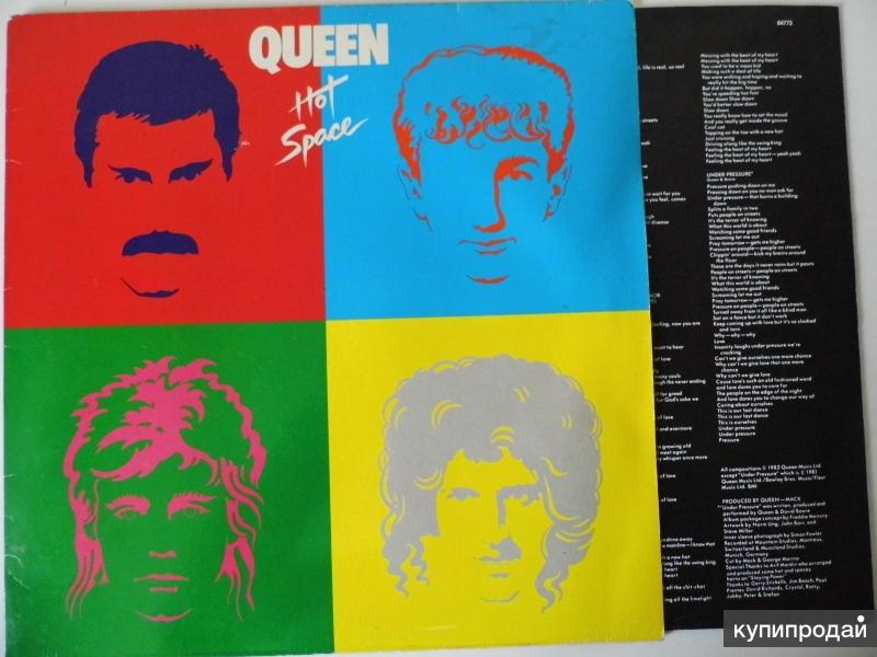 Квин / Queen / Hot Space / 1982