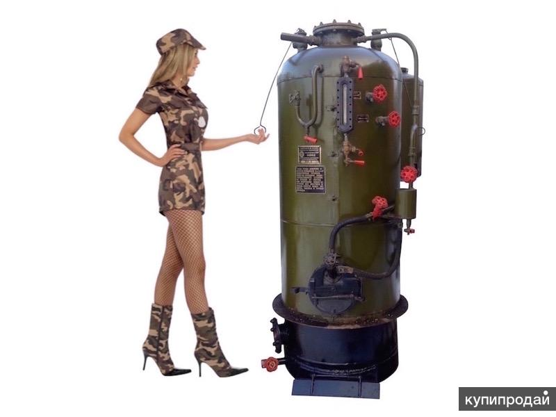 Паровой котёл парогенератор на 200 кг пара в час РИ-5М