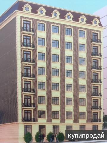 2-к квартира 72 м² на 5 этаже 8-этажного дома.