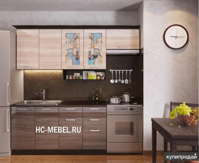 Кухонный гарнитур ВЕНЕЦИЯ-3, длина 2200