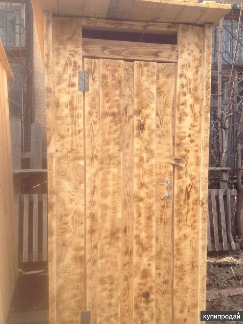 Дачный туалет.