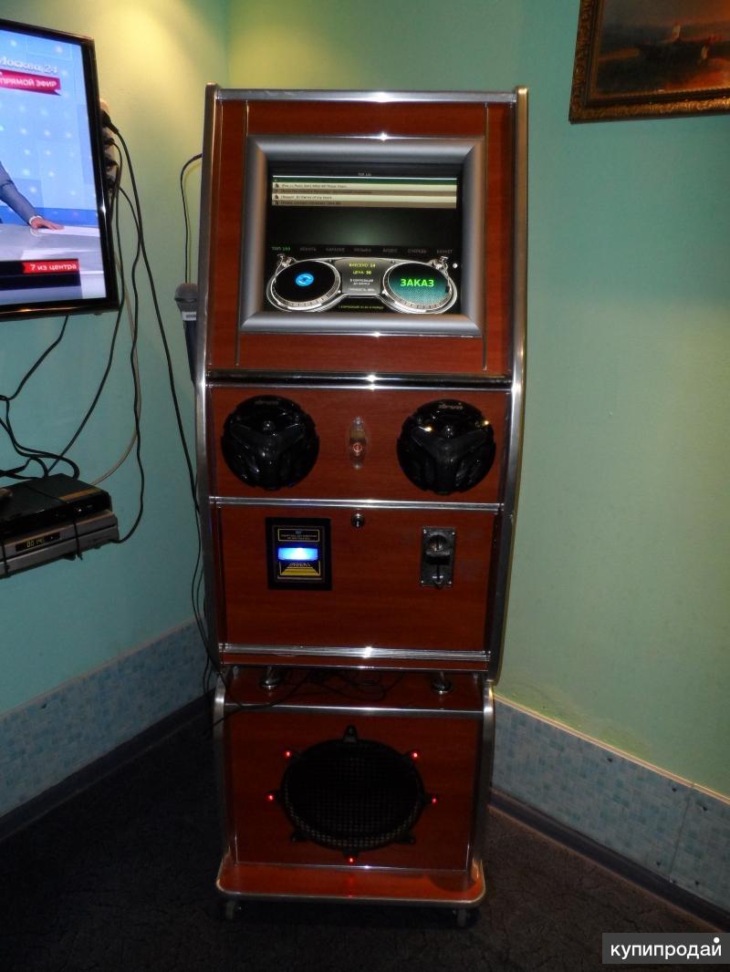 Музыкальный автомат с караоке б.у.