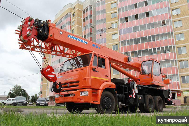 Продам Автокран Клинцы КС 55713-1К-3 Камаз 65115