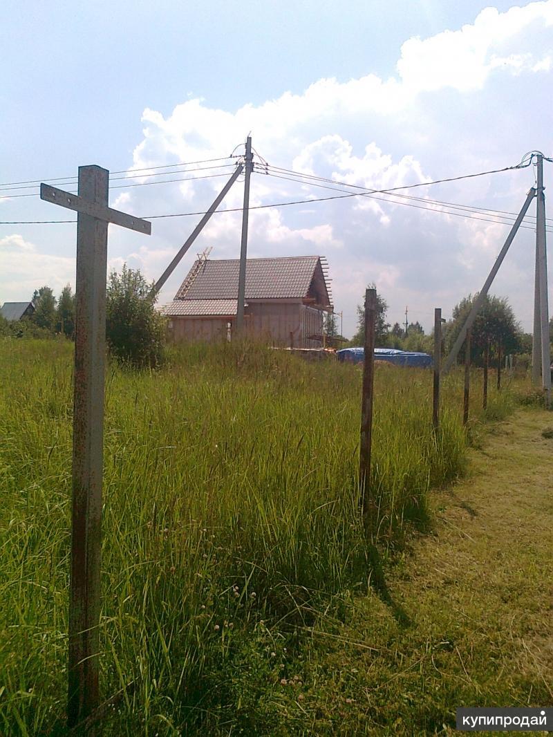 Продаю участок на озере в д.Левое Ящерово, 80км от МКАД