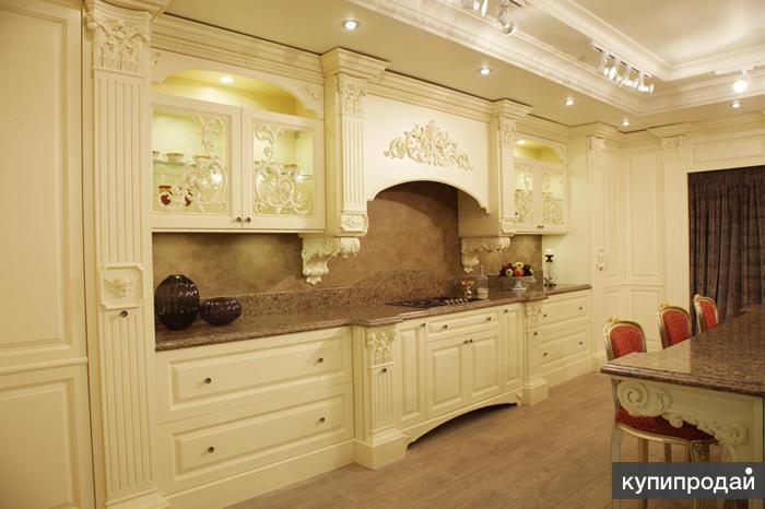 Кухни в классическом стиле от производителя