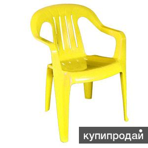Пластиковый стул (кресло) для пикников. Цвет на выбор.