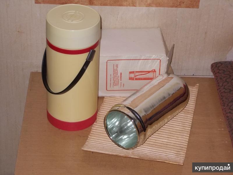 Термос 1л. широкое горло с колбой