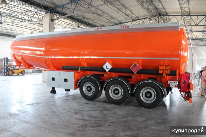 Полуприцеп-цистерна Бензовоз алюминиевый