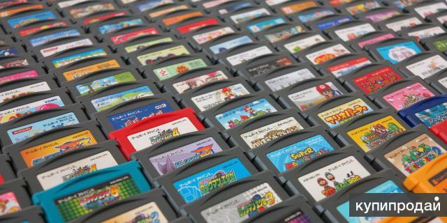 Картриджи с играми для Game Boy Advance SP (GBA)