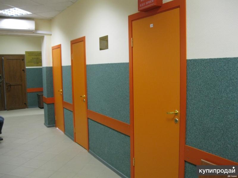 железные двери для больница