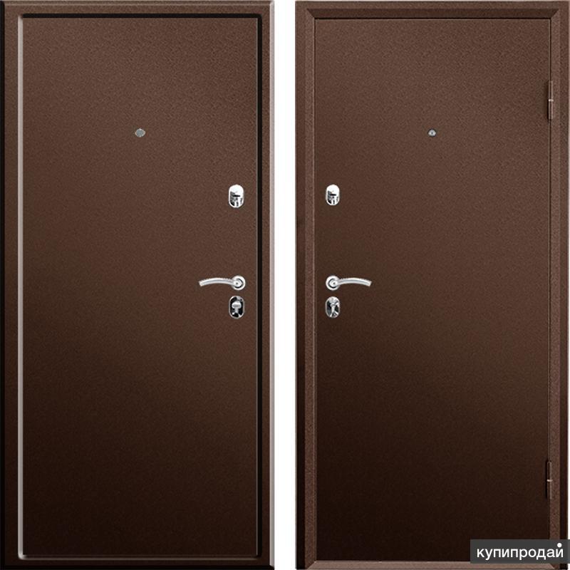 Сейф дверь входная металлическая ПРАКТИК металл-металл