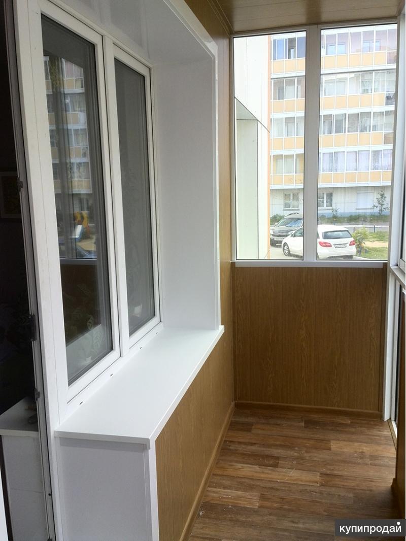 Отделка балконов и лоджий. иркутск.