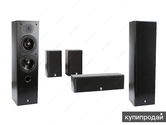 акустическая система YAMAHA NS-50F Black и NS-P60