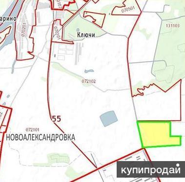 Участок в районе военной базы