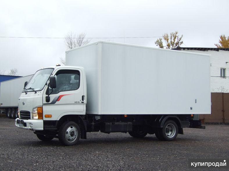 Hyundai HD 35 с изотермическим фургоном