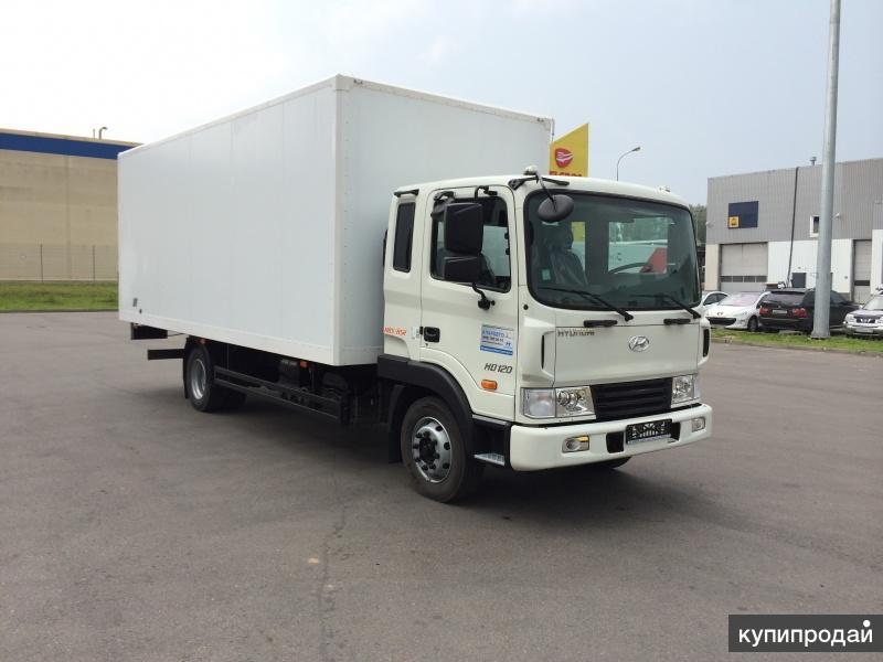 Hyundai HD 120 с изотермическим фургоном