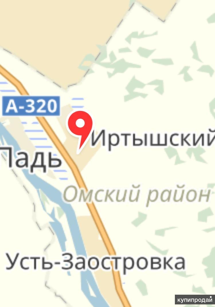 Земельный участок в пос. Иртышский