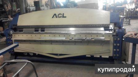 гидравлический листогиб ACL W62Y  – 3Х2500
