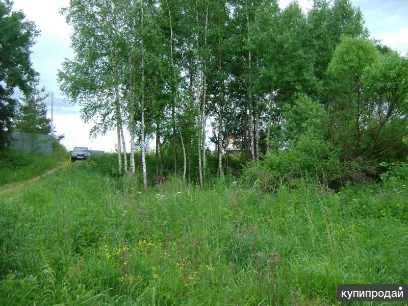 участок 23 сотки ИЖС Городня 15 км от Твери на Волге 140км от Москвы