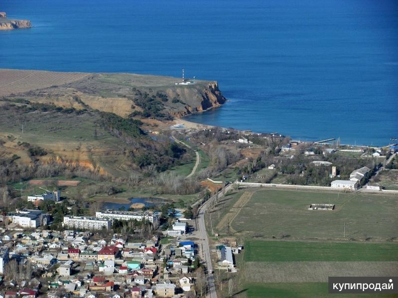 Земля в Крыму у моря