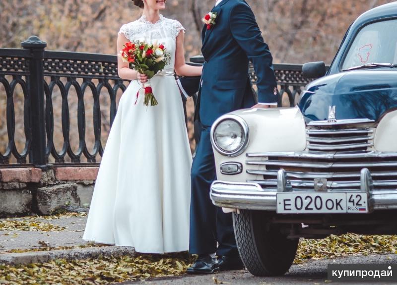 Счастливое свадебное платье (рост 155)