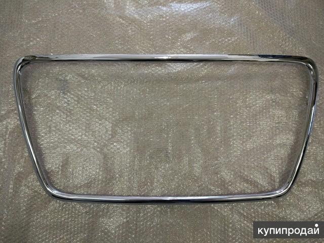 Окантовка решетки радиатора хром для Митсубиси Лансер 10 2007-