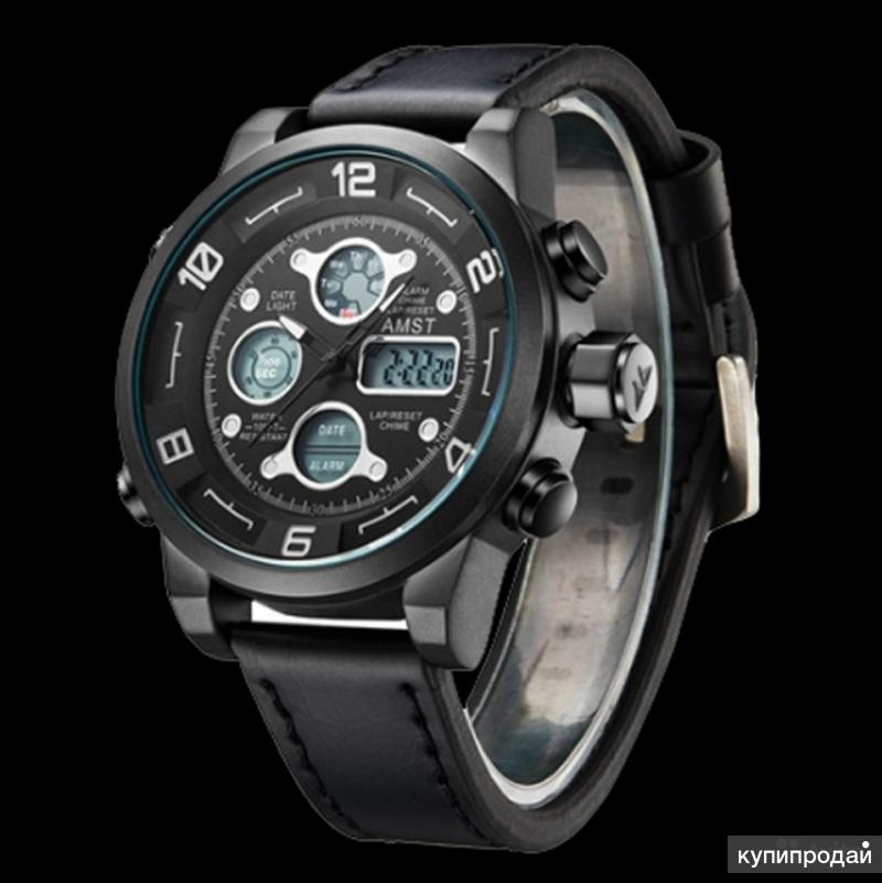 если настоящие мужские часы ударопрочные водонепроницаемые часы amst определить