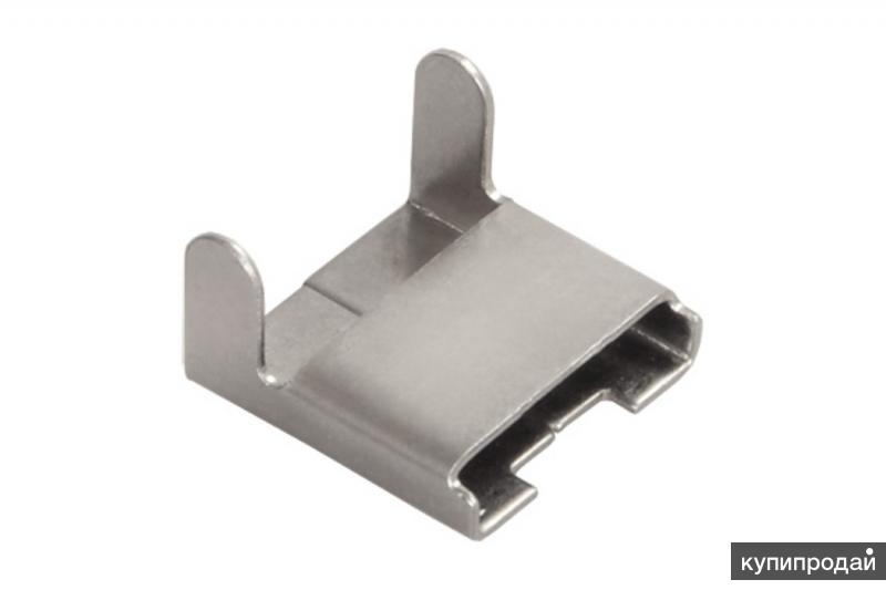Скрепа для соединения монтажной ленты F20 на теплоизоляции