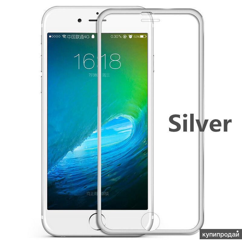 Защитное 3D стекло для iPhone 6, 6s, 7, 8