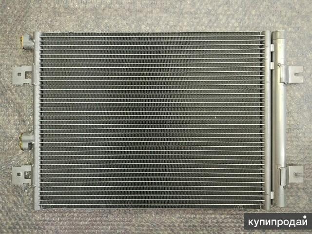 Радиатор кондиционера для Рено Логан с 2008- Nissan Almera G15 rus c 2012-