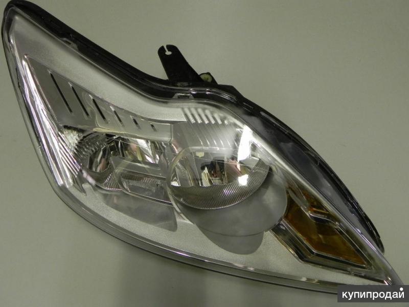 Фара хром правая для Ford Focus 2 (Форд Фокус 2 ) 2008-2010
