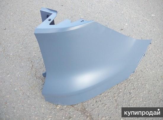 Клык заднего бампера правый FORD KUGA 13- RH