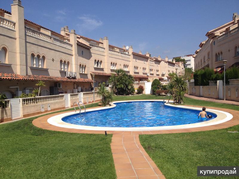 Сдаем дом таунхаус y моря с бассейном в Испании,TEL.+34672393735