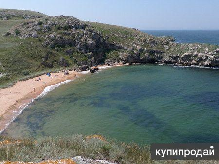 Продам земельный участок на берегу Азовского моря в Крыму