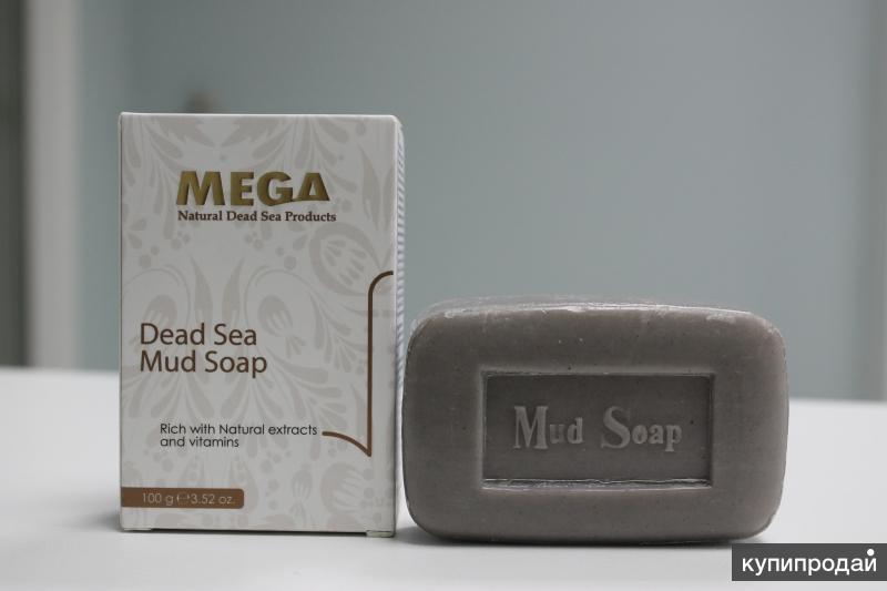 Иорданское мыло-скраб с грязью