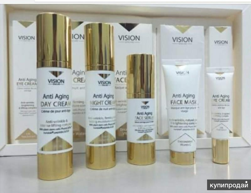 Омолаживающая косметика Vision skincare