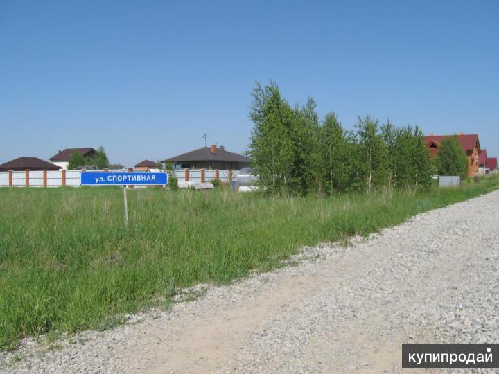 Участок в поселке Новониколаевский