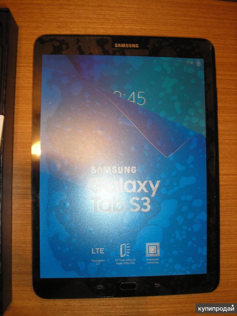 Планшет Samsung Galaxy Tab S3 LTE SM-T825NZKASER