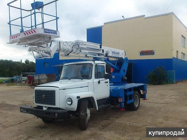 Автовышка 24 метра на шасси ГАЗ 3309