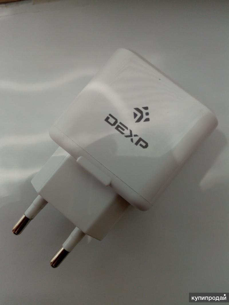 Оригинальная зарядка Dexp 1 ампер. Доставка РФ СНГ