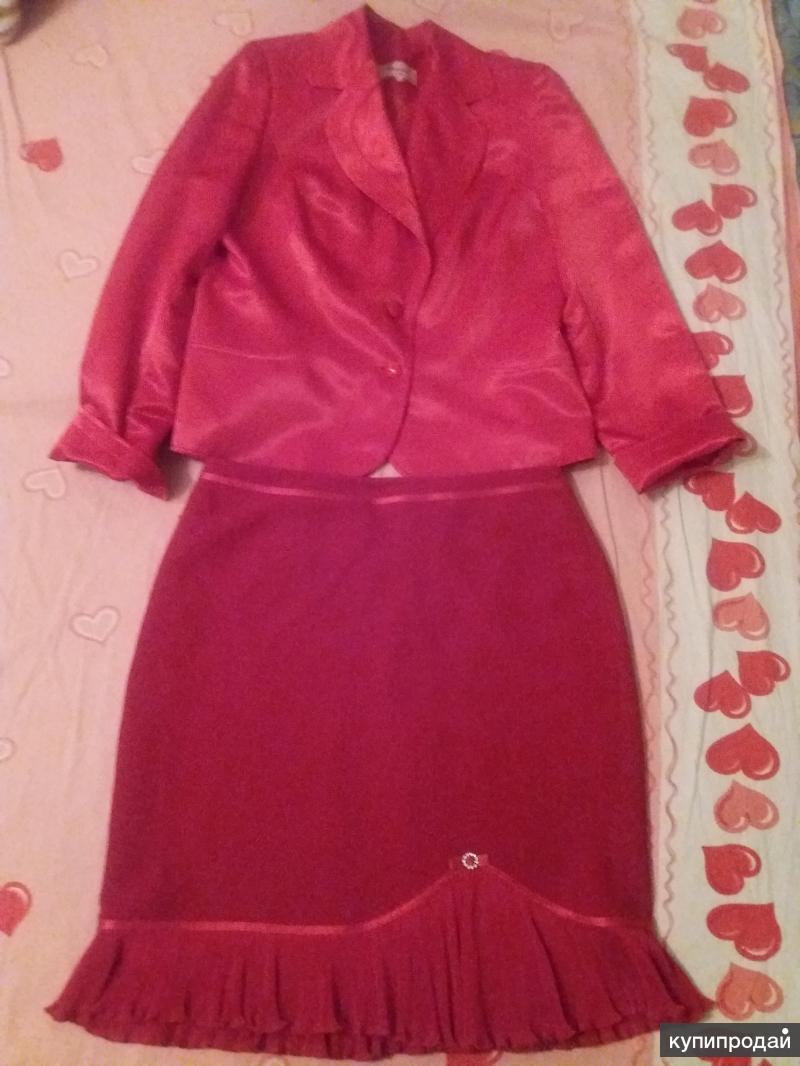 Костюм юбка с пиджаком