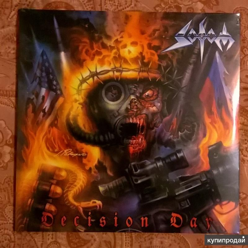 SODOM - Decision Day - 2016 2LP+ CD Germany S/S