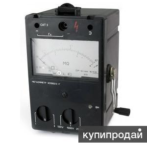 Прокат мегаомметра ЭС0202/2Г в Санкт-Петербурге