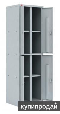 Шкаф металлический офисный ШАМ-24