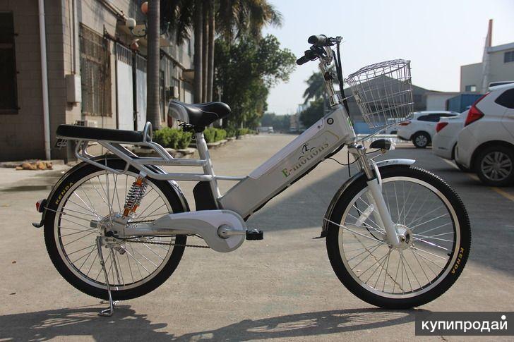 Электровелосипед E-motions' Datsha 4two 350W